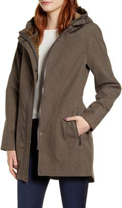 Kristen Blake Packable Softshell Hooded Jacket