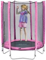 Plum Junior Pink Trampoline And Enclosure