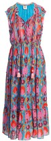 Figue Clara Printed Midi Dress