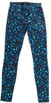 J Brand Printed Skinny-Leg Pants w/ Tags