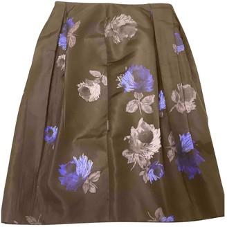 Prada Blue Silk Skirts