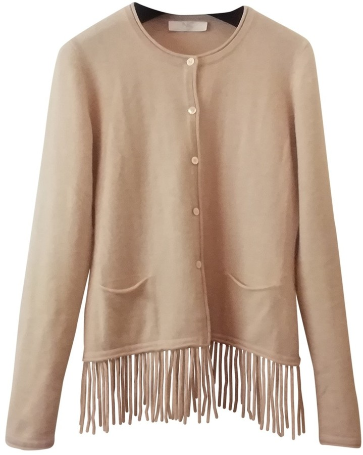 Nice Connection Beige Cashmere Knitwear for Women