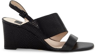Louise et Cie Quarza Asymmetrical-Strap Wedge Sandal