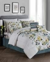 Jessica Sanders Alexis Reversible 12-Pc. Queen Comforter Set