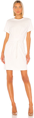 Vince Short Sleeve Waist Tie Dress