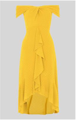 Whistles Eriko Dobby Bardot Dress