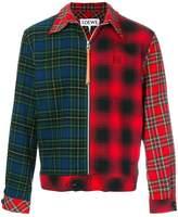 Loewe checkered zip jacket