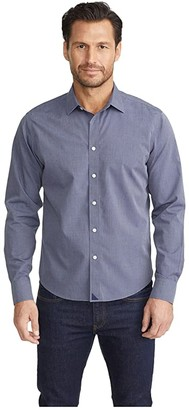 UNTUCKit Wrinkle-Free Orville Shirt (Blue) Men's Clothing