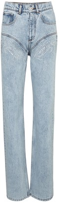 Y/Project Embellished high-rise jeans