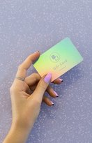 Beginning Boutique BB Holographic Gift Card