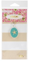 "Webster Charm Embellishment Calm Waters-Multicolor 6""x3"""