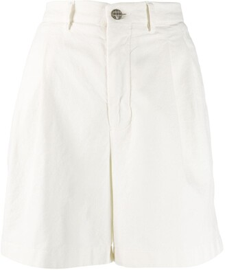 Berwich tailored fitted shorts