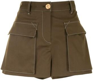 Versace Safari-Inspired Shorts
