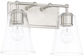 Capital Lighting Fixture Company 2 Light Vanity, Brushed Nickel