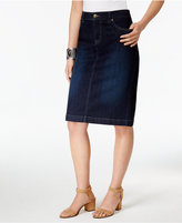 Style&Co. Style & Co Denim Skirt, Only at Macy's