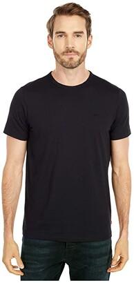 Levi's Thicket Short Sleeve T-Shirt (Caviar) Men's Clothing