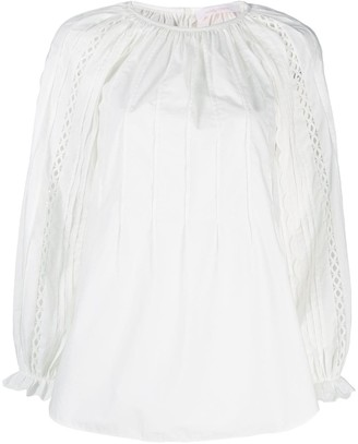 See by Chloe Pleated Front Blouse
