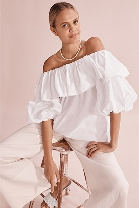 Country Road Off Shoulder Top
