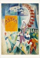 Rob-ert 1art1 Posters: Robert Delaunay Poster Art Print - Die Mannschaft Von Cardiff (27 x 19 inches)