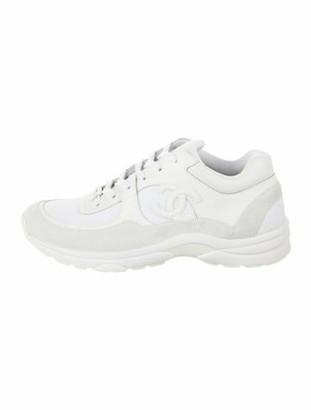 Chanel Calfskin Sneakers White