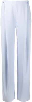 Giorgio Armani High-Waisted Wide Leg Trousers