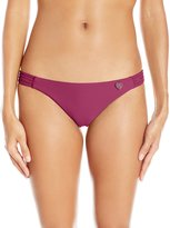 Body Glove Women's Smoothies Beachy Cheeky Coverage Bikini Bottom