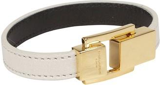 Saint Laurent Logo Clasp Bracelet