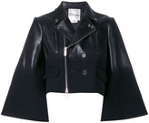 Comme des Garcons wide sleeves cropped jacket