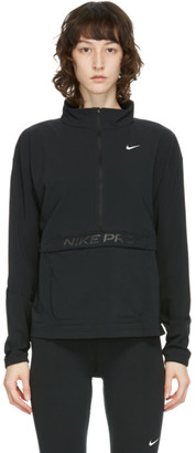 Nike Black Pro Cover-Up Jacket