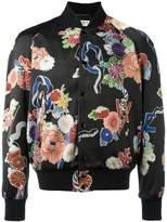 Saint Laurent lightweight Love teddy jacket