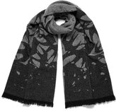 McQ by Alexander McQueen Swallow Scarf Concrete/Pearl Grey