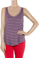 Aubin and Wills Linwood striped cotton tank