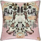 Silken Favours - Precious Pussies Cushion - 45x45cm