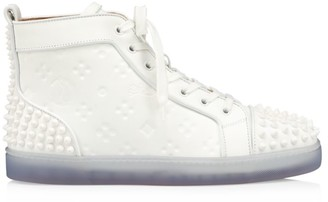 Christian Louboutin Lou Spikes 2 High-Top Sneakers