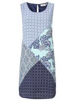 Jeanswest Trinity Patch Work Print Dress-Multi-6
