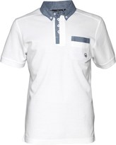 Duck and Cover Mens Redmond Polo White