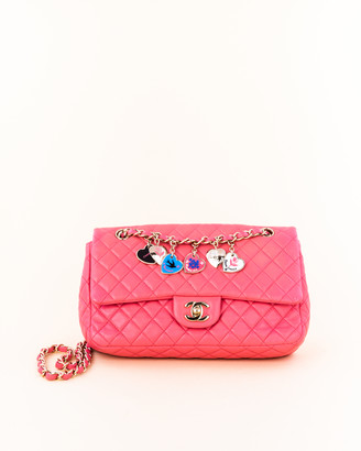 Chanel Quilted Charms Classic Flap Bag