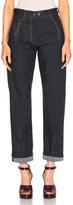 Maison Margiela Cotton Linen Denim Pants
