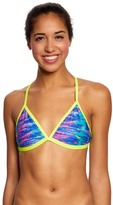Speedo Missy Franklin Endurance Lite Rainbow Tides Triangle Swimsuit Top 8149879