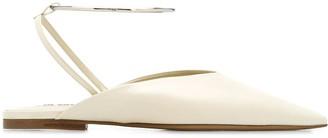 Jil Sander Pointed Toe Wrap-Around Mules