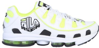 MSGM X Fila Logo Embroidered Sneakers