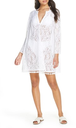 Lilly Pulitzer Kizzy Lace Cover-Up Tunic