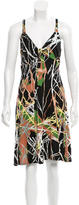 M Missoni Abstract Print Crossover Dress