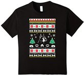 Kids Boxer gifts for women or men ugly Christmas sweater look 10