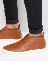 Fred Perry Shields Mid Leather Sneakers