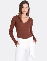 Forcast Layla V-Neck Sweater
