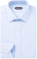 Tom Ford - Blue Slim-fit Cotton-poplin Shirt