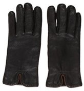 Loro Piana Bi-Color Leather Gloves