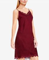 Vince Camuto Lace-Trim Slip Dress