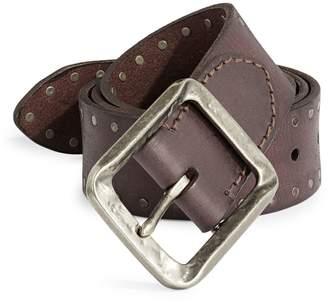 John Varvatos Stud Leather Belt